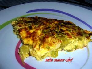 Frittata con Asparagi e Scalogno