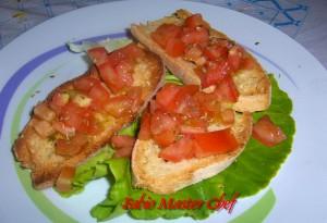 Bruschette con Pomodori