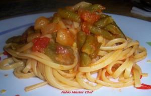 Linguine con Fagiolini e Patate