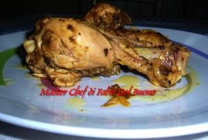 Pollo alla Zafferano e Birra