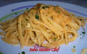 Spaghetti con Pesto di Noci