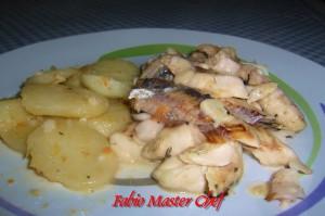 Spigola e Patate