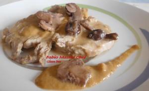 Arrosto di Maiale con Crema di Funghi Porcini Senza Glutine